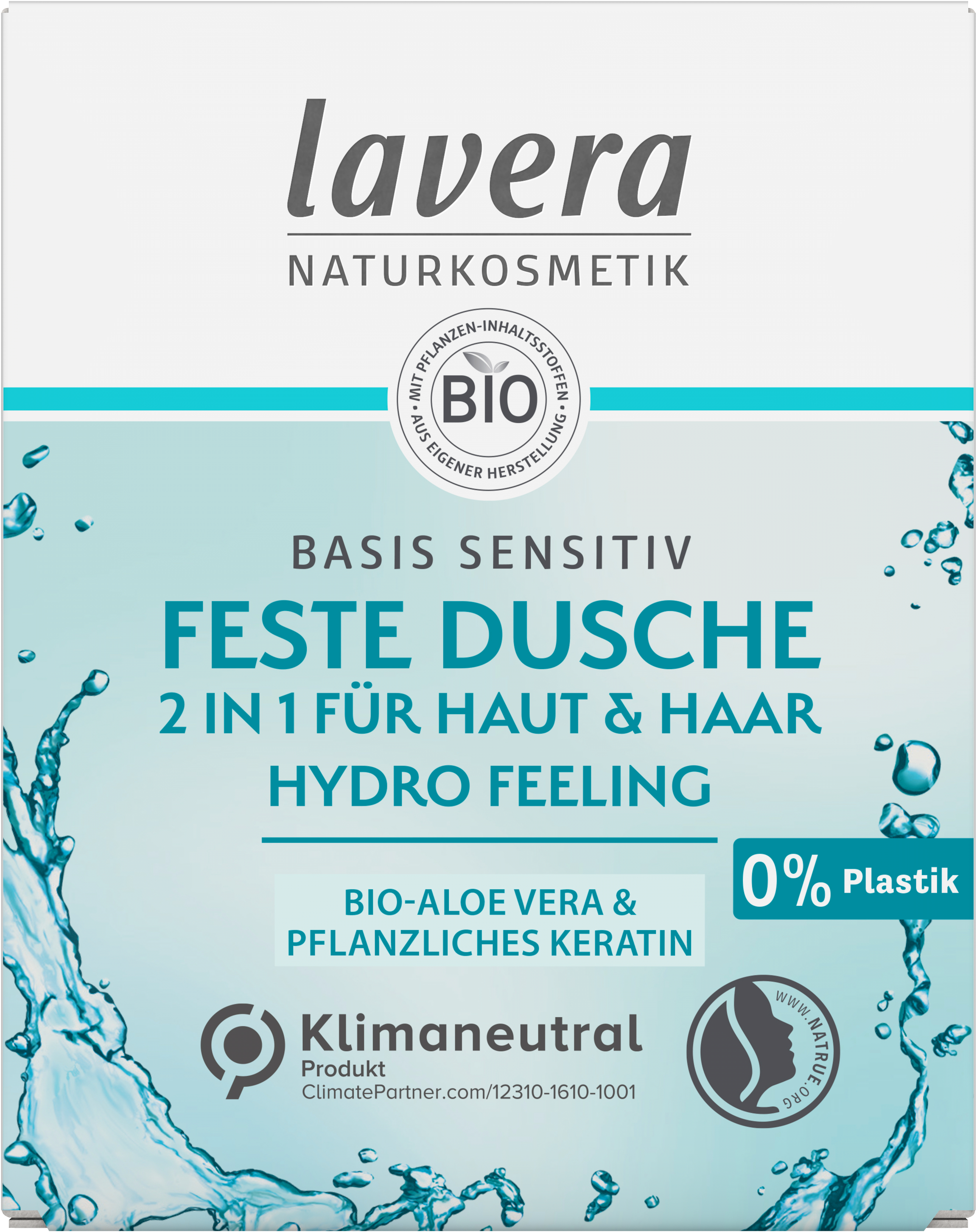 Feste Dusche 2 in 1 basis sensitiv Hydro Feeling