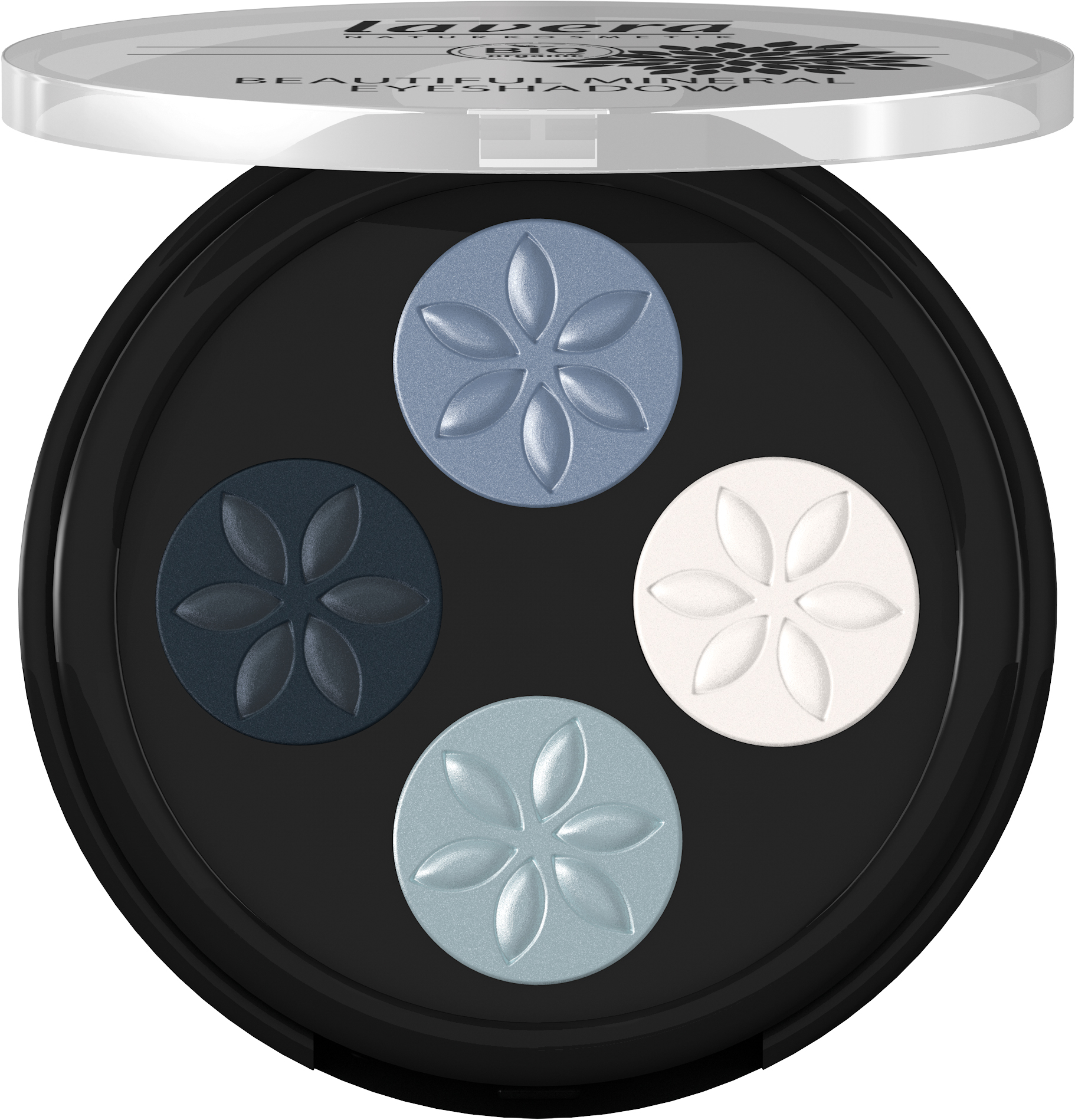 Beautiful Mineral Eyeshadow Quattro -Blue Platinum 07-