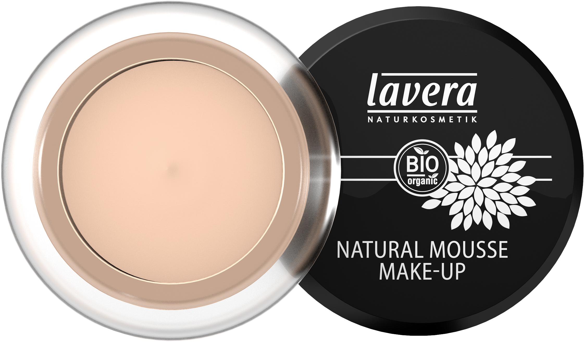 Natural Mousse Make up -Ivory 01-