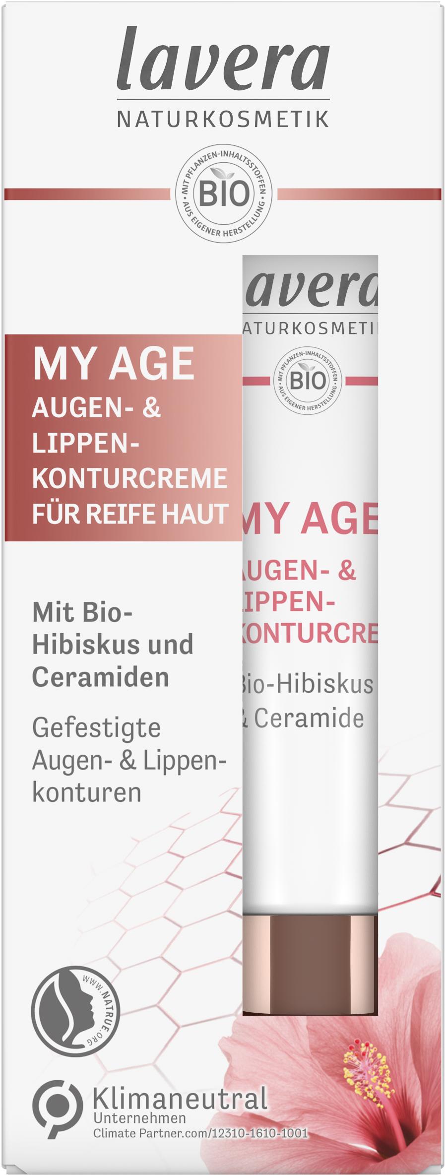 MY AGE Augencreme & Lippenkonturcreme
